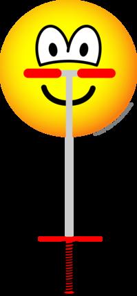 Pogo Stick emoticon
