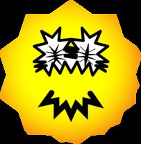 Pointy emoticon