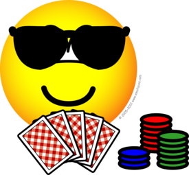 Poker emoticon