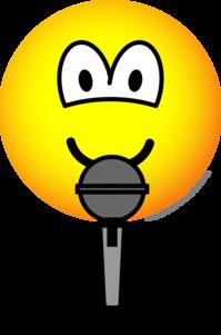 Presentator emoticon