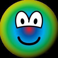 Psychedelic emoticon