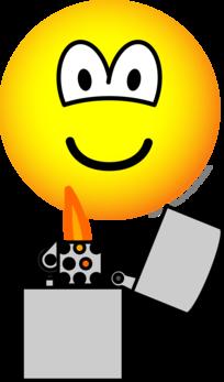 Pyro emoticon