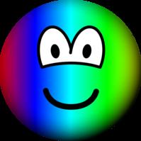 Rainbow emoticon