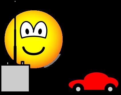 RC car emoticon