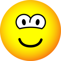 Round eyed emoticon