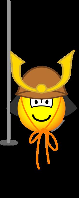 Samurai emoticon