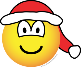 Santa hat emoticon