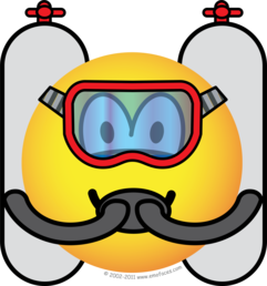 Scubadive emoticon