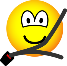 Seat belt emoticon