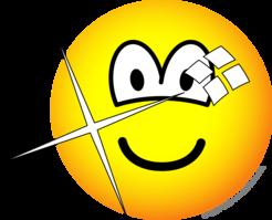 Shiny emoticon