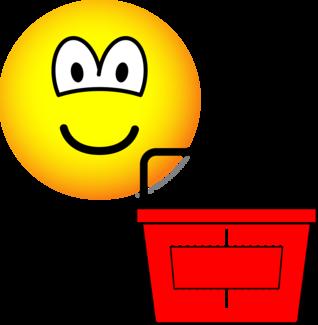 Shopping emoticon