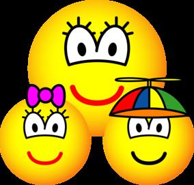 Single mother emoticon