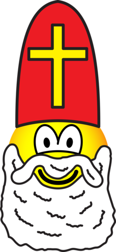 Sinterklaas emoticon
