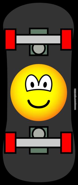 Skateboard emoticon