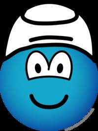 Smurf emoticon