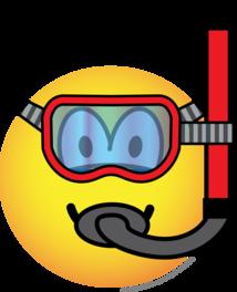 Snorkel emoticon
