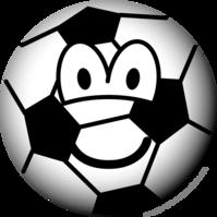 Soccer ball emoticon