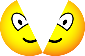 Split emoticon