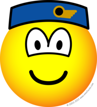 Stewardess emoticon