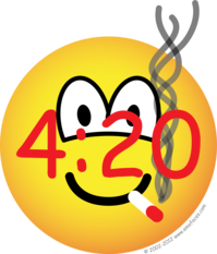 Stoner 4:20 emoticon