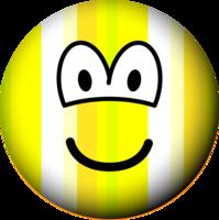 Stripey emoticon