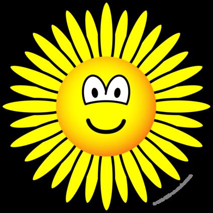 Sunflower emoticon