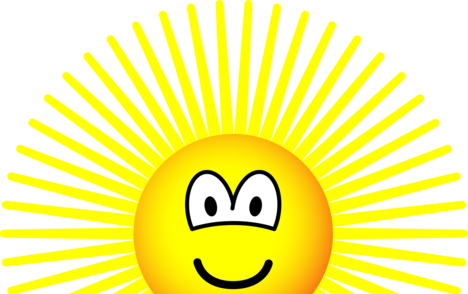 Sunrise emoticon