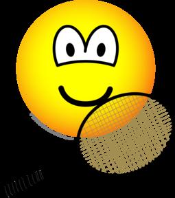 Tennis emoticon