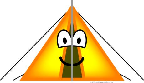 Tent emoticon