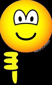 Thumb down emoticon