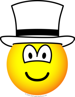 White hat emoticon