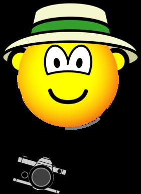 Tourist emoticon