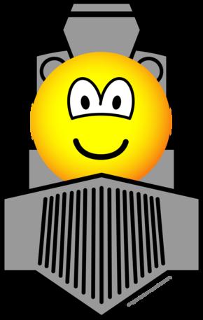 Train emoticon : Emoticons @ emofaces.com