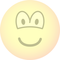Transparent emoticon