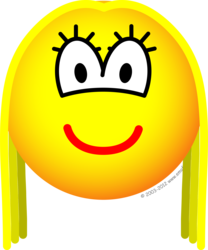 Transvestite emoticon