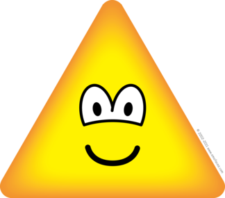Triangle emoticon