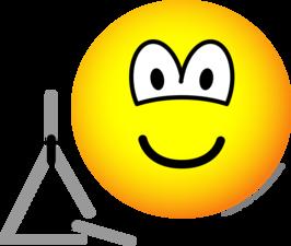 Triangle emoticon