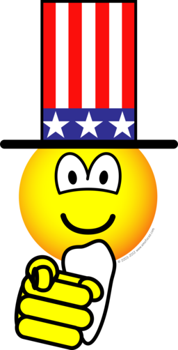 Uncle Sam emoticon