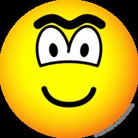 Unibrow emoticon