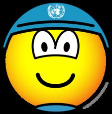 UN soldier emoticon