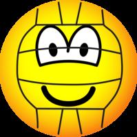 Volleyball emoticon