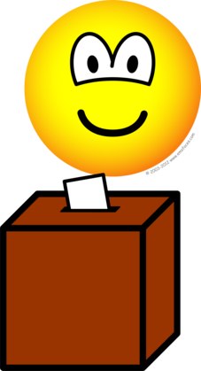 Voting emoticon
