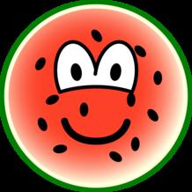 Watermelon emoticon