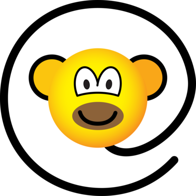 Web monkey emoticon