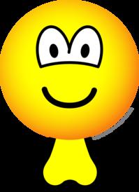 Emoticon with balls