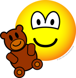 Image result for smiley face teddy bear