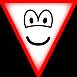 Yield emoticon