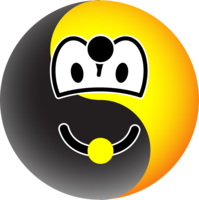Ying Yang emoticon
