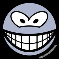 Alien smile