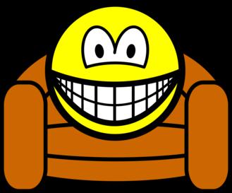 Armchair smile